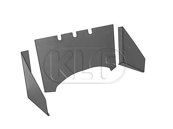 Firewall Insulation convertible, 3 pc, tar paper, Top Quality