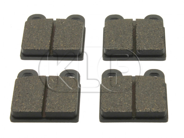 Brake Pad Set, square 2-pin ATE