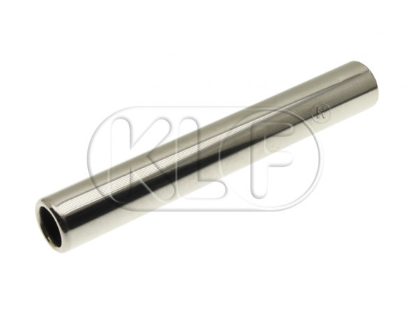 Tail Pipe, 245 mm, stainless-steel polished, top quality, year 8/55 on