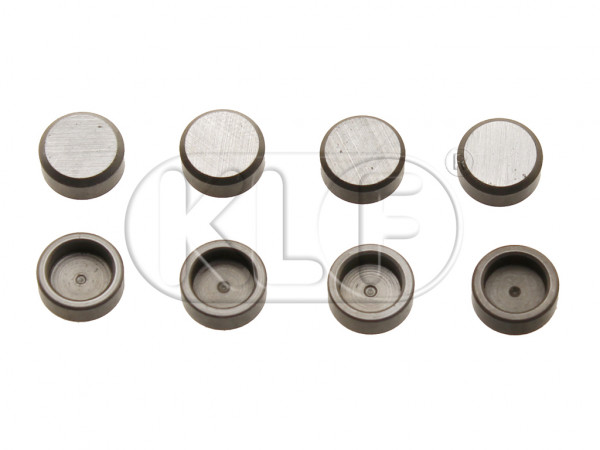 Lash Caps, 7mm, set of 8