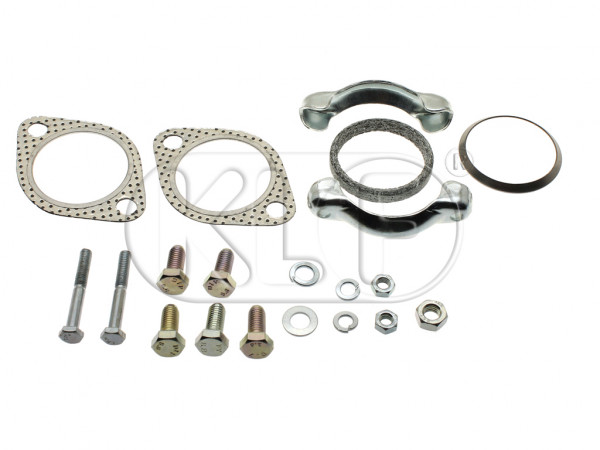 Muffler Installation Kit, AJ engine (without catalytic converter)