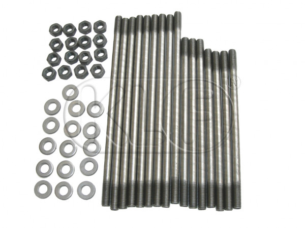 Head Stud Kit, for dual port cylinder heads, M8