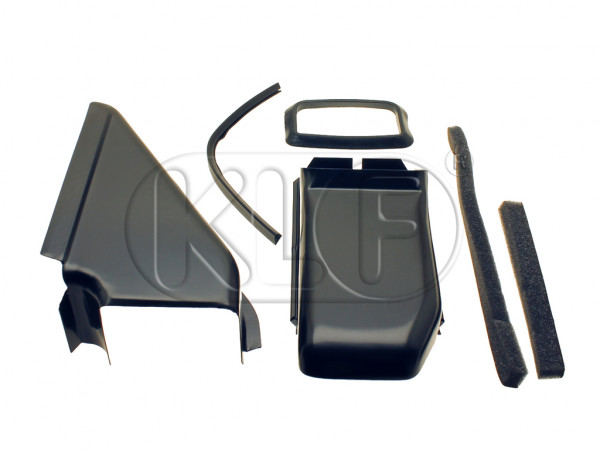 Oil cooler tin set, incl. seals, for all engines with dual port cylinder heads