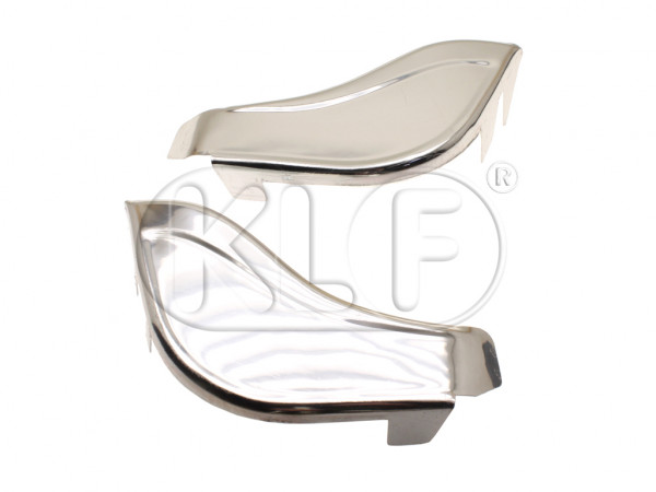 Gravel Guards front chrome, not 1302/1303, pair