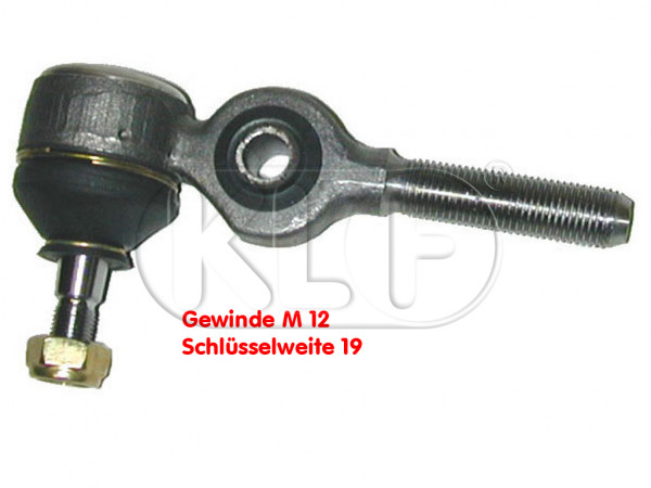 Tie Rod End, right inner year 5/68 on, not 1302/1303, left-hand thread