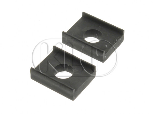 Shockpad, body to front beam, upper (pair), year 10/52 on (not 1302/ 1303)
