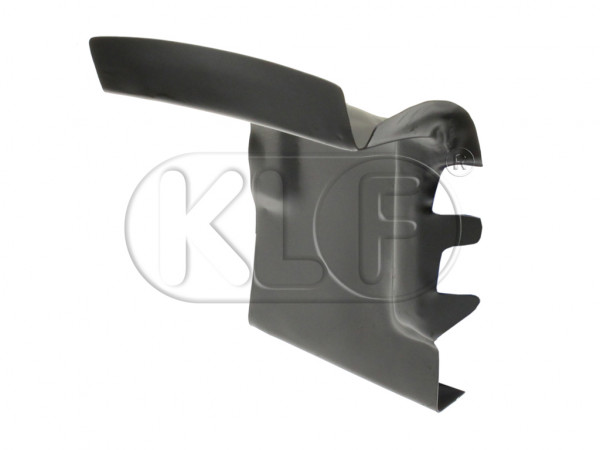 End Panel for heater channel, alternative quality, rear right