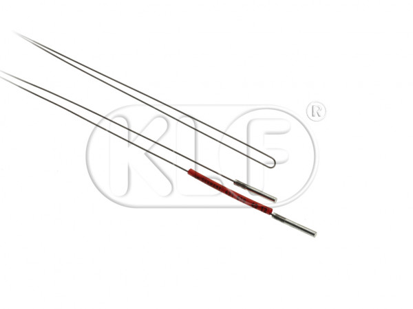 Heater Cable, year mid 50 (starting at chassis # 162445) thru 07/55