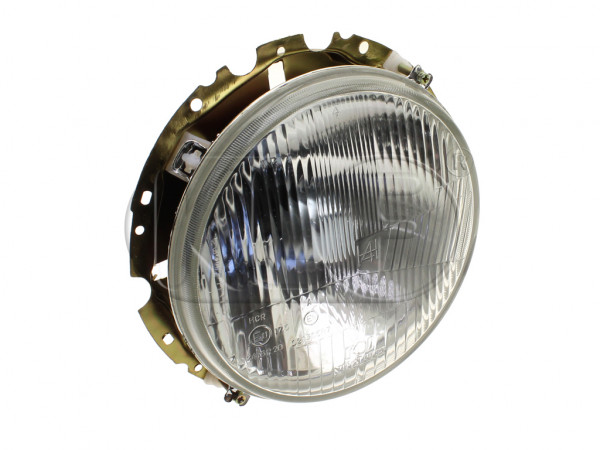 Headlight complete H4, year 8/73 on
