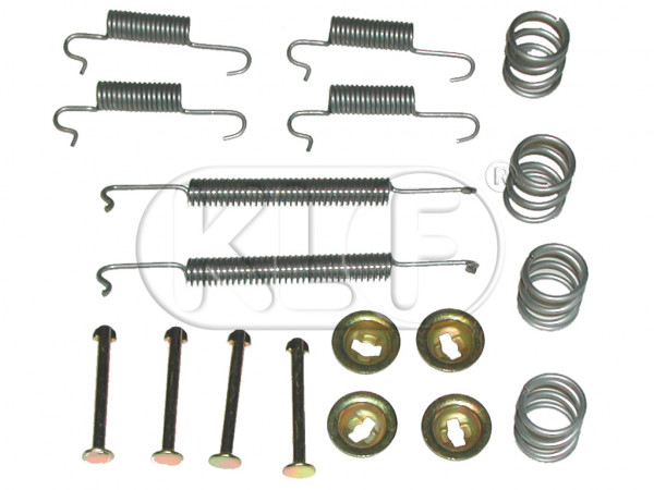 Brake Spring Kit front, only 1302/1303, year 8/70 on