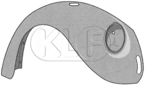 Fender front right, only 1302/1303, year 8/70-7/73