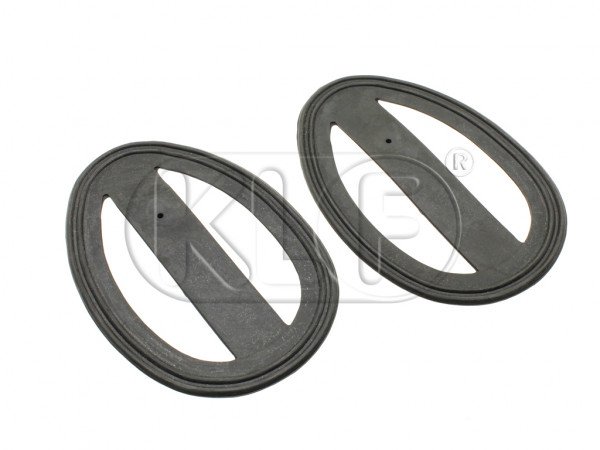 Taillight Seal, pair, year 6/49-9/52